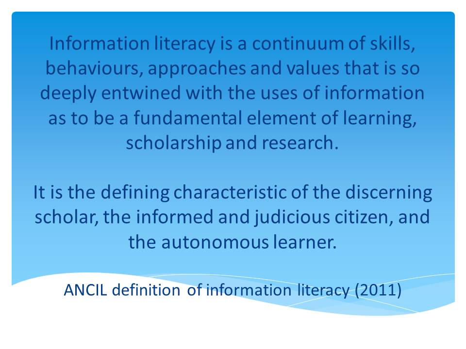 essays on information literacy